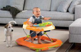 Ходунки для детей: правила и начальный период использования