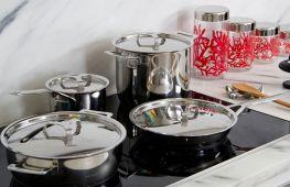 Посуда для индукционных плит: особенности выбора