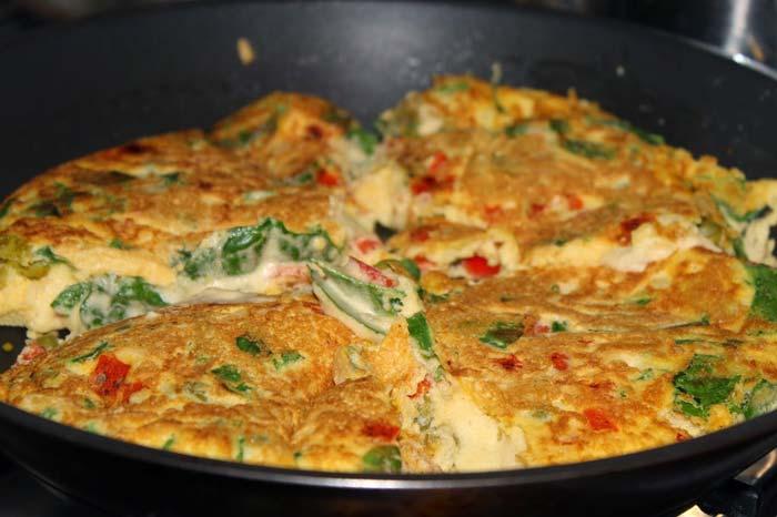 Как сделать вкусный омлет на сковороде рецепт 181